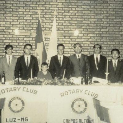 Histórico da fundação do Rotary Club de Campos Altos