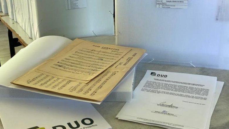 RESTAURO E CONSERVAÇÃO DAS PARTITURAS DA CORPORAÇÃO MUSICAL LIRA SANTO ANTÔNIO