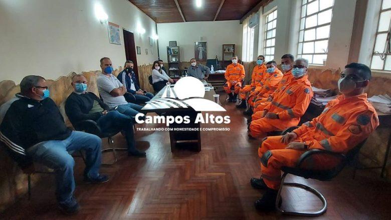 Permanência do Corpo de Bombeiros em Campos Altos