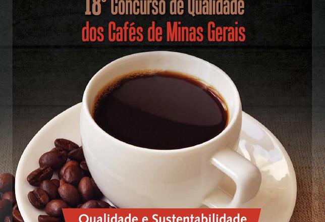 XVIII CONCURSO DE QUALIDADE DE CAFÉS DE MINAS GERAIS EDIÇÃO 2021