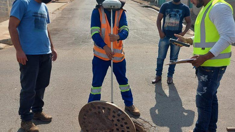 cadastramento técnico da rede de abastecimento de água, esgoto sanitário e drenagem pluvial