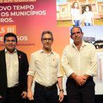 Chefe do Executivo Municipal participa de evento que autoriza repasse de R$ 1,5 bilhão aos municípios mineiros; Cidade de Campos Altos foi contemplada.